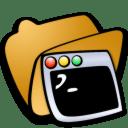 Folder terminals icon