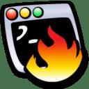 Terminal hot icon