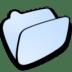 Folder-lightblue icon
