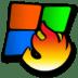 Windows-burning icon