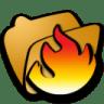 Folder-hot icon
