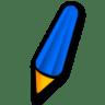 Pen-blue icon
