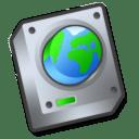 Harddrive network icon