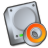 Harddrive-dvd icon