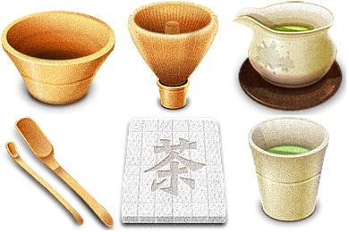 Chinese Tea Icons