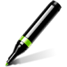 Text-marker icon