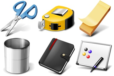 Office Supplies Icons