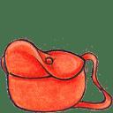 Kiki bag open icon