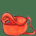 Kiki bag radio icon