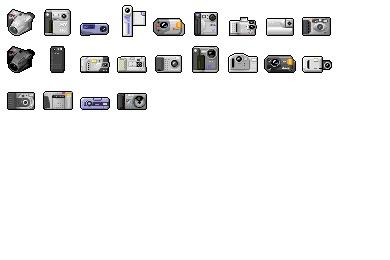 Digi Cam 02 Icons