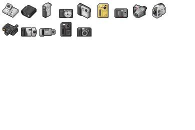 Digi Cam 05 Icons