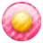 Pink-button-1 icon