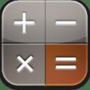 Calculator glow icon