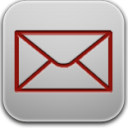 Mail red icon