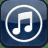 Music3 glow icon