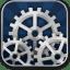 Settings-blue icon