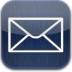 Mail-blue-glow icon