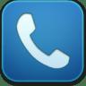 Phone-blue icon