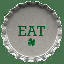 Metal eat icon