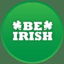 St patricks day be irish icon