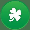 St patricks day clover icon