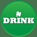 St patricks day drink icon