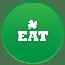 St patricks day eat icon
