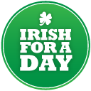 St patricks day irish for a day icon