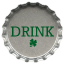Metal drink icon