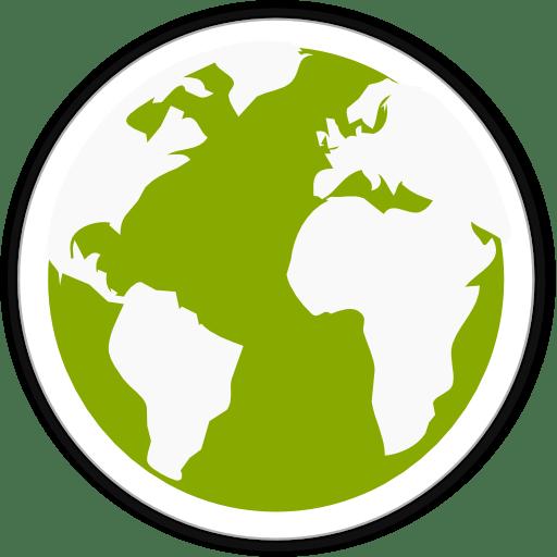 Midori globe icon