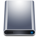 Disk HD Dark icon