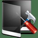 Folder Black Configure icon