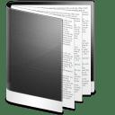 Folder Black Doc icon