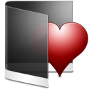 Folder Black Favorite icon