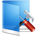 Folder Blue Configure icon