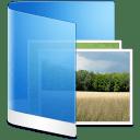 Folder-Blue-Picture icon