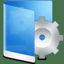 Folder Blue System icon