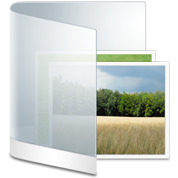 Folder White Picture icon