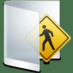 Folder White Public icon