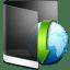 Folder-Black-Downloads icon