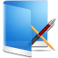 Folder-Blue-Apps icon