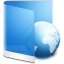 Folder-Blue-Web icon