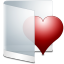 Folder-White-Favorite icon