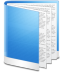 Folder-Blue-Doc icon