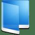 Folder-Blue-Folder icon