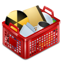 Basket-full icon