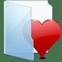 Folder Blue Fav icon