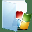Folder Blue Win icon