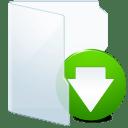 Folder-Light-Download icon
