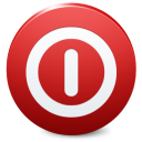 Sign Shutdown icon